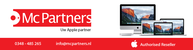 McPartners. Uw Apple partner