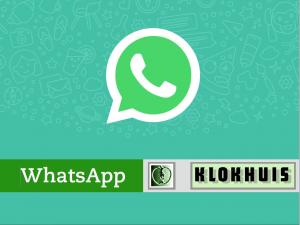 WhatsApp Klokhuis