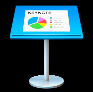 Online lezing over Keynote