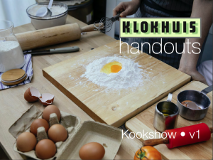 Hand-out Online Kookshow