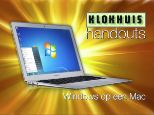 Hand-out Windows op de Mac